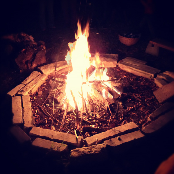 fire pit - image by fangmarks