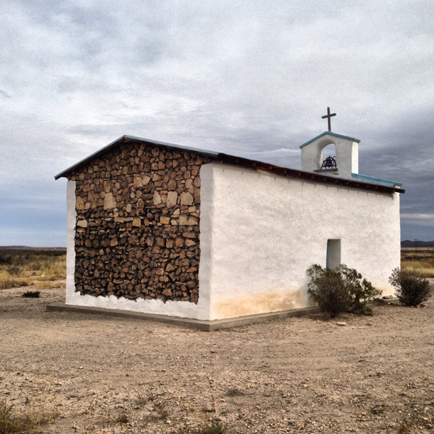 west texas chapel - image by fangmarks