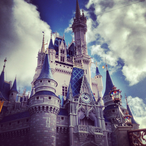 disney castle at magic kingdom