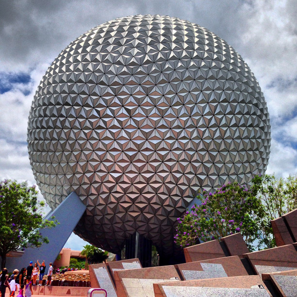 the ball at epcot