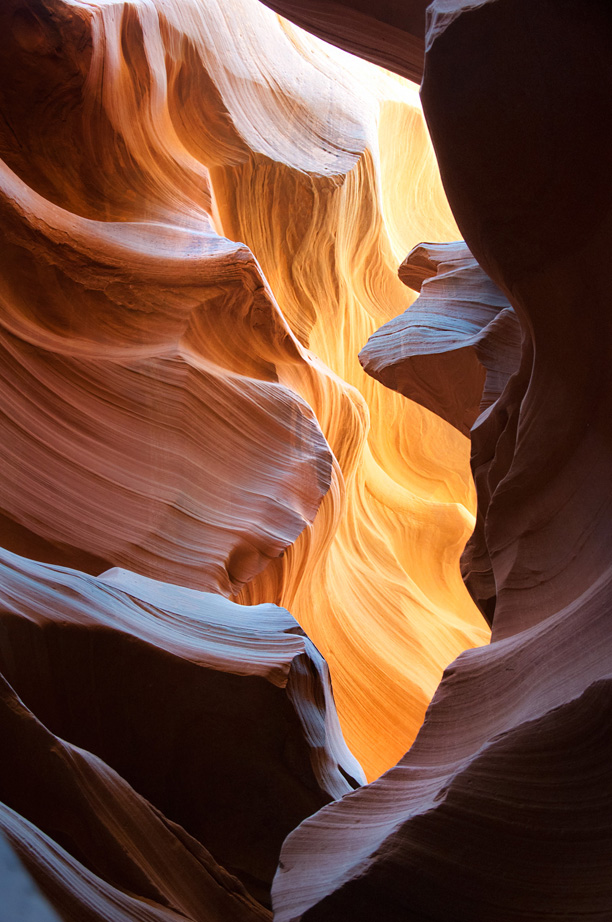 photo of antelope canyon