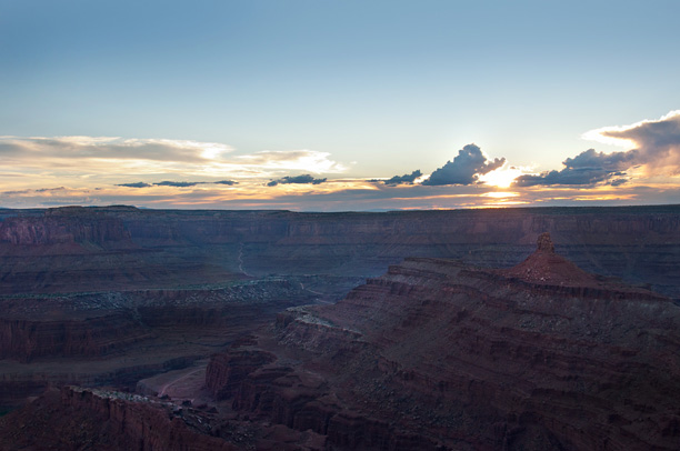 photo of dead horse point