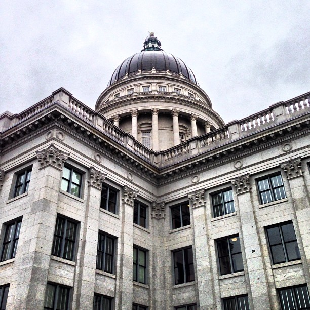 photo of utah state capital building