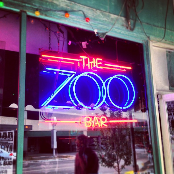 photo of the zoo bar
