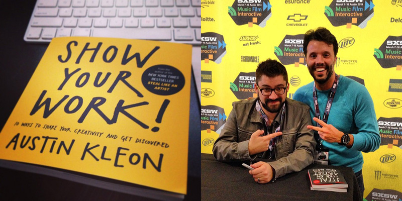 austin kleon - show your work