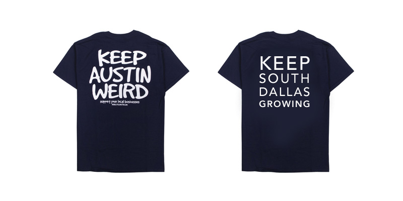 keep south dallas growing t-shirt