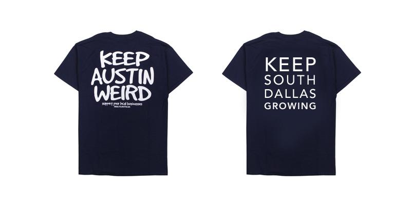 keep south dallas growing t-shirt