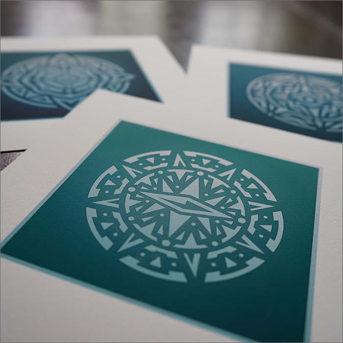 Tribals prints by Fangmarks
